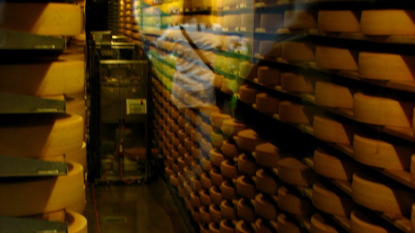 Cheese Storage Area