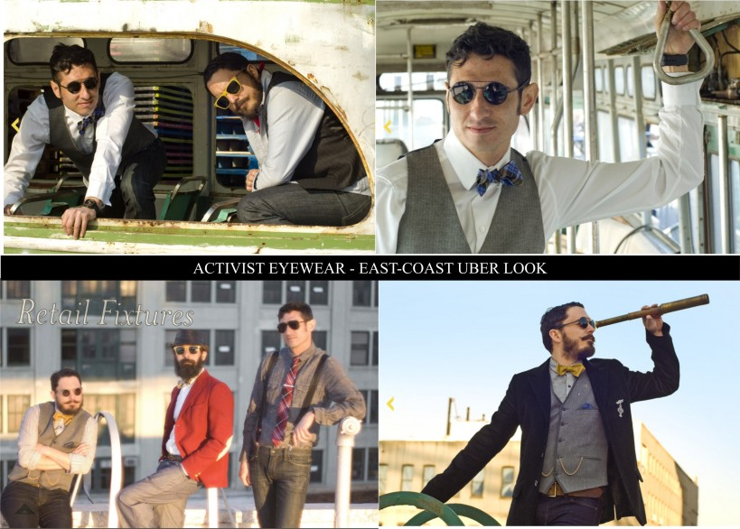 The East-Coast Look, uber look, sartorial look, Activist Eyewear East Coast Look