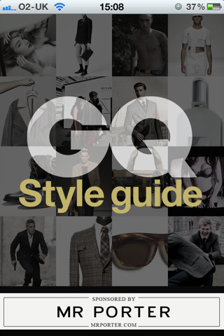 GQ Style Guide, Mr Porter