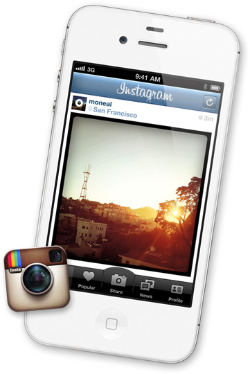 Instagram, Apple
